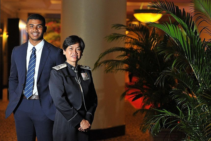 Madam Zuraidah Abdullah became the first woman to hold the rank of Senior Assistant Commissioner in the Singapore Police Force. It was just one of her many achievements, while Mr Sheik Farhan Sheik Alau'ddin showed his mettle in sport by becoming sil