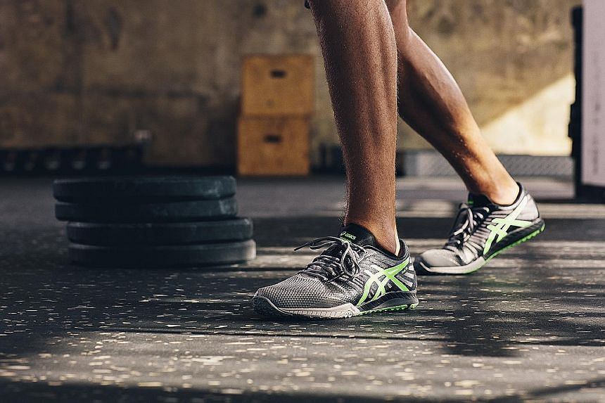 The Asics fuzeX TR training shoes are comfortable for running and circuit training and stylish enough as a pair of casual sneakers.