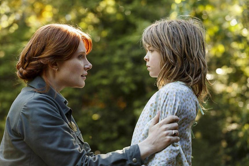 A still from the movie, Pete's Dragon.