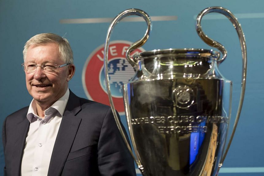 Alex Ferguson during a press conference about the 18th Elite Club Coaches Forum at the UEFA Headquarters in Nyon, Switzerland on Aug 31, 2016.