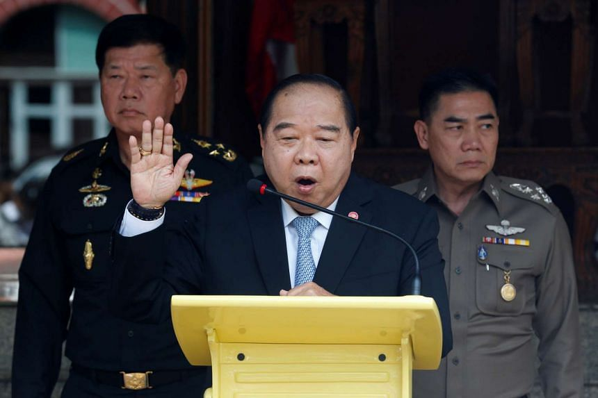 Defence Minister Prawit Wongsuwan said negotiations would restart on Friday in Kuala Lumpur.