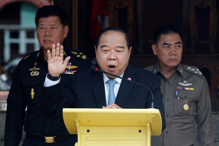Defence Minister Prawit Wongsuwan said negotiations would restart on Friday in Kuala Lumpur.
