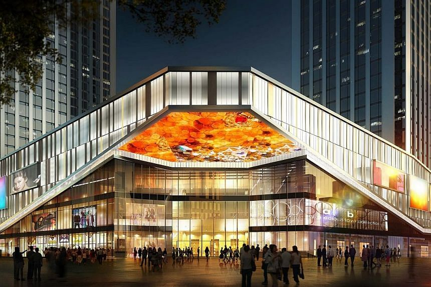 An artist's impression of Fortune Finance Centre, an integrated development in Changsha, Hunan province.