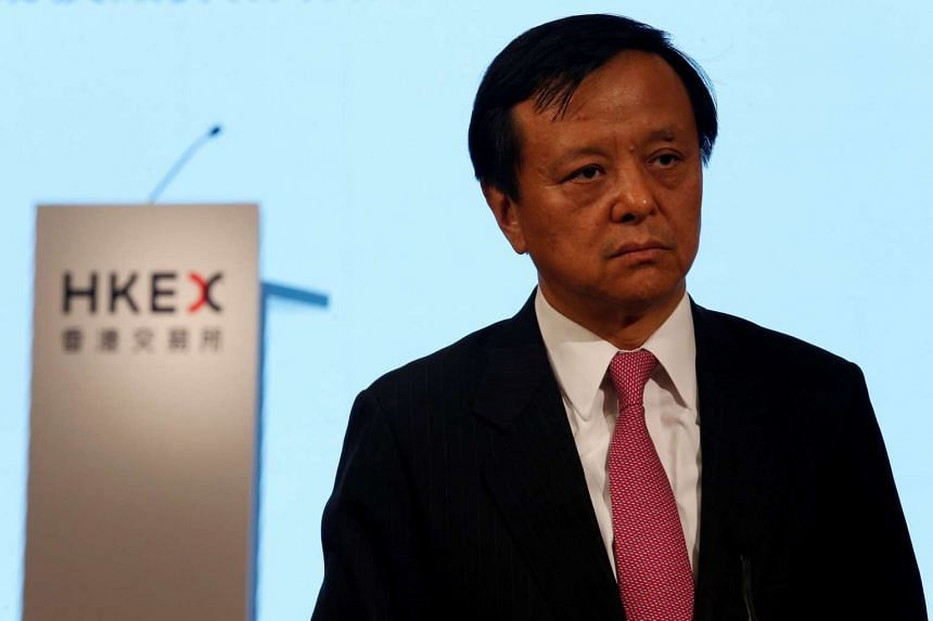 Hong Kong Exchanges and Clearing Ltd Chief Executive Charles Li looks on before an event celebrating the 16th anniversary of HKEX in Hong Kong on June 28, 2016.