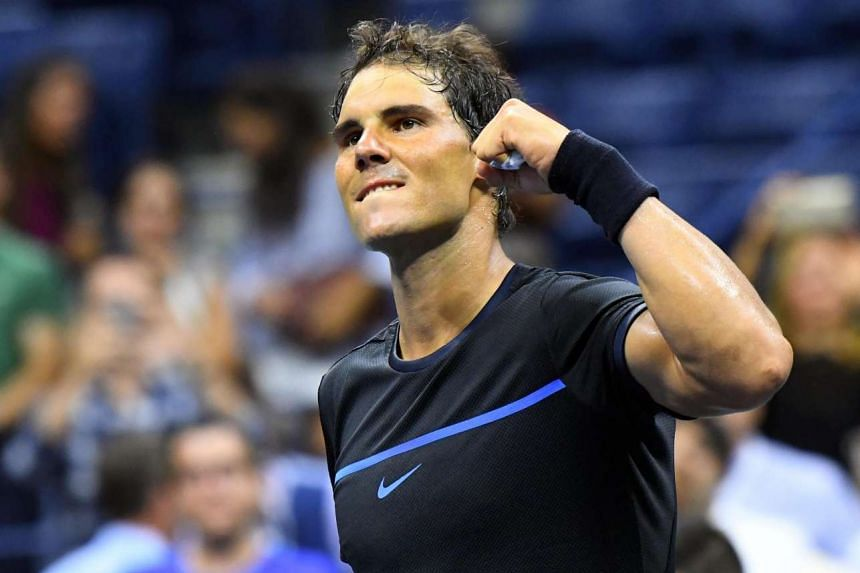 Rafael Nadal of Spain after beating Andreas Seppi of Italy on day three of the 2016 US Open tennis tournament at USTA Billie Jean King National Tennis Center on Aug 31, 2016.