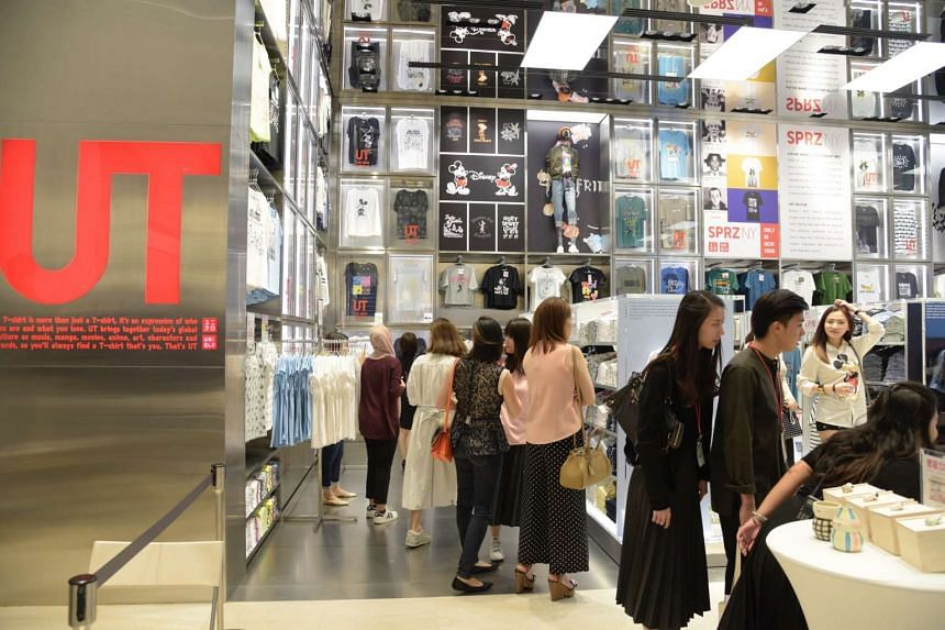 Uniqlo's new flagship store at Orchard Central will open to the public on Friday (Sept 2).