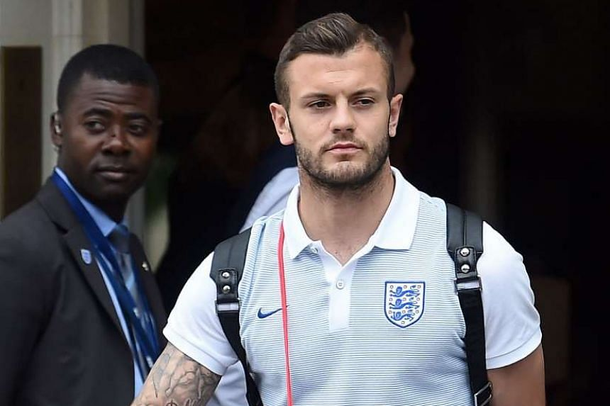 Midfielder Jack Wilshere after England's 2-1 defeat to Iceland during the Euro 2016 tournament in June 2016.