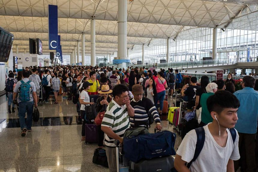 "The Hong Kong government has issued an ""amber"" alert to remind travellers to exercise caution when they are in Singapore."