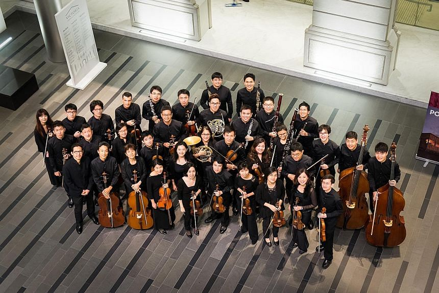 Singapore's first fully professional chamber orchestra, the re:Sound Chamber Orchestra, introduced itself with refined playing.