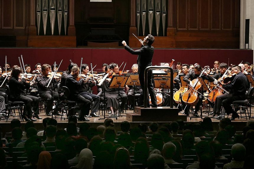 The performance at the Victoria Concert Hall was led by SSO associate conductor Jason Lai.