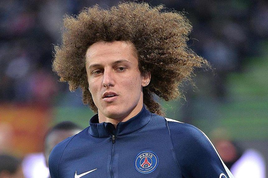 Brazilian central defender David Luiz, 29, is Chelsea's deadline day signing. He left Stamford Bridge for French champions Paris Saint-Germain in 2014.