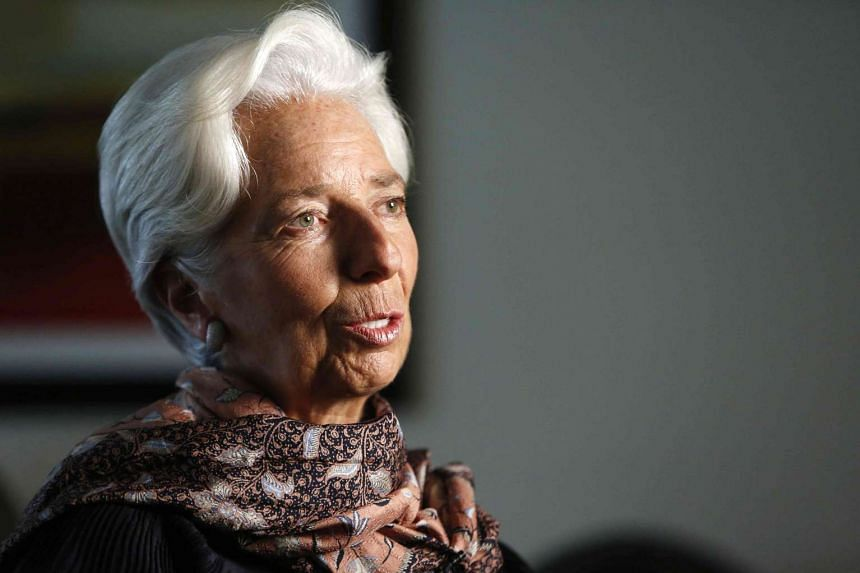 IMF Managing Director Christine Lagarde being interviewed by Reuters in Washington, United States, on Aug 31, 2016.