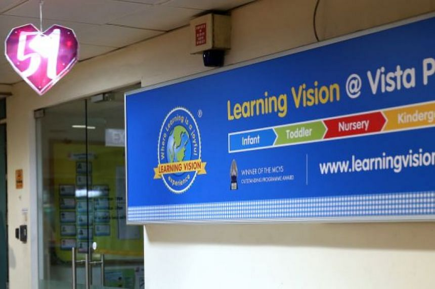 A nine-month-old boy sustained second-degree burns on his buttocks and thigh after a carer rinsed his buttocks with hot water at Learning Vision @ Vista Point in Woodlands.