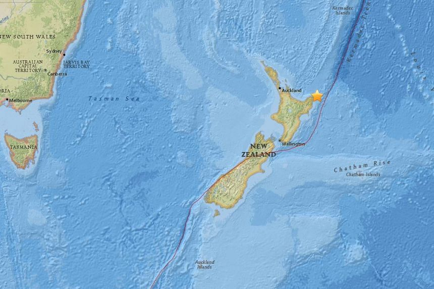 The earthquake was centred 167km from the nearest main town, Gisborne, which has a population of around 45,000.