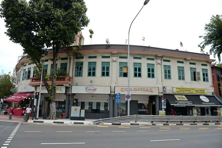 Part of the Ellison Building at the corner of Selegie Road and Bukit Timah Road will be making way for the construction of the North-South Corridor.