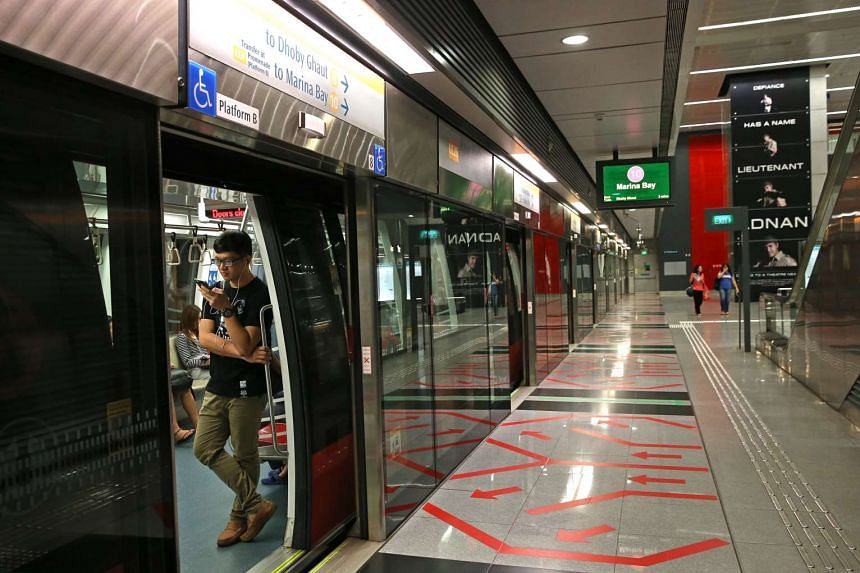 Mobile signals in four Circle Line stations were shut down for two hours on Friday evening.