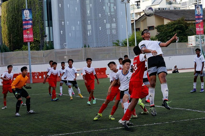 The Football Association of Singapore has unveiled a new initiative that is set to transform youth football at the elite level and will build on the Schools Football Academy initiative which is currently in its pilot season.