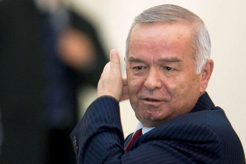 Uzbekistan President Islam Karimov in a 2009 file photo. He died aged 78 on Friday, Sept 2, 2016.