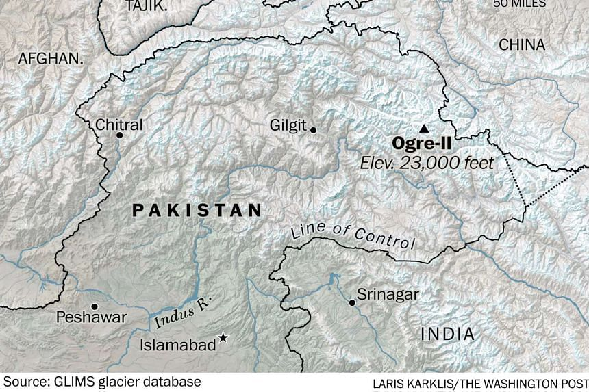 Mr Kyle Dempster and Mr Scott Adamson went missing off the Choktoi Glacier in the Gilgit-Baltistan region of Pakistan on Sunday, Aug 21.