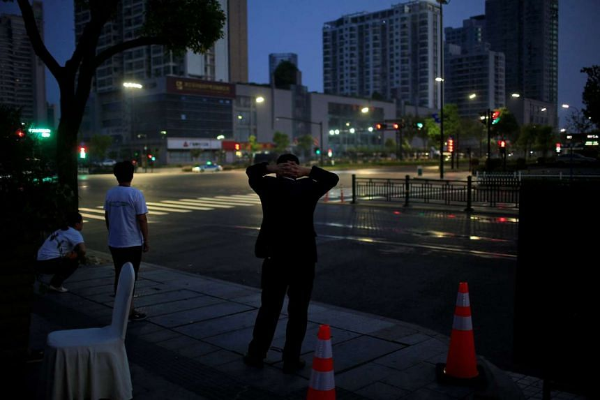 On the eve of the summit, roads and malls around the main venue were largely deserted.