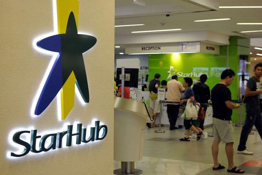 -4.4% StarHub shares slip 16 cents to $3.47.