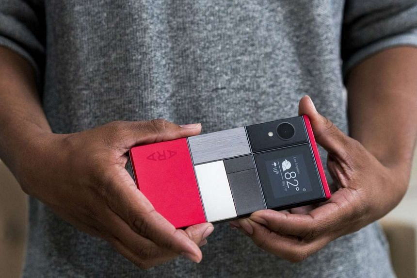 With Project Ara, Google's aim was to create a phone that users could customise on the fly with an extra battery or other parts.