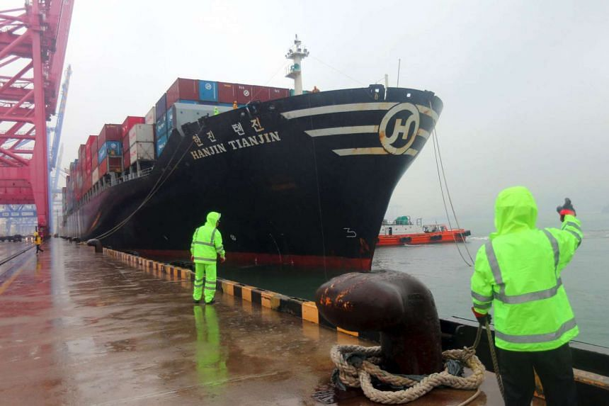 More gloom looms as Hanjin's collapse comes during the shipping industry's busiest season ahead of the year-end holidays. Freight rates surged after the world's seventh-largest container shipper filed for court receivership this week.