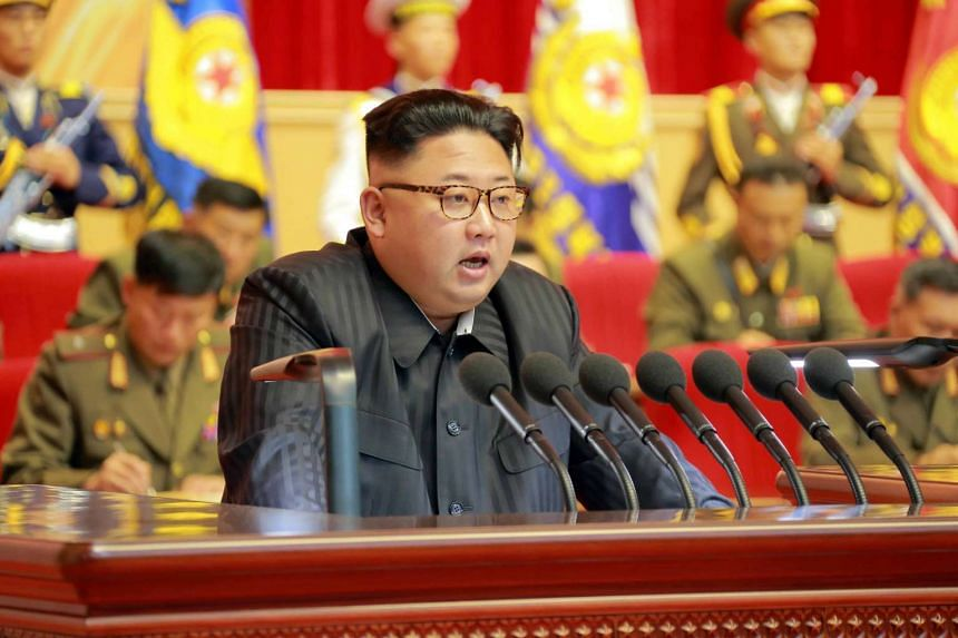"""North Korea had reportedly executed a vice premier for showing """"disrespect"""" to leader Kim Jong Un (above)."""