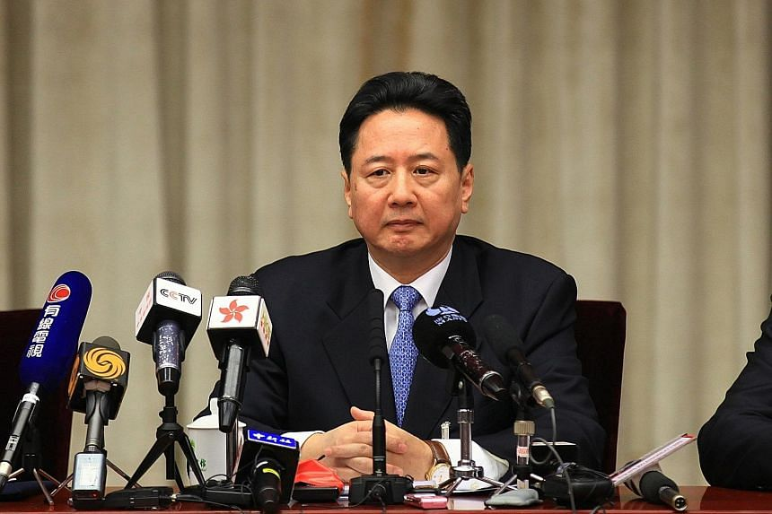Mr Li Xiaopeng, son of former Chinese premier Li Peng, was previously the governor of Shanxi province.
