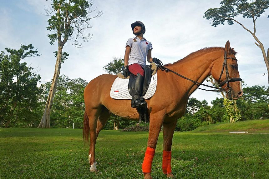 For Gemma Rose Foo, riding has brought a sense of liberation, on top of its benefits as a form of physical therapy. The Rio Games will be the 20-year-old's second Paralympics outing.
