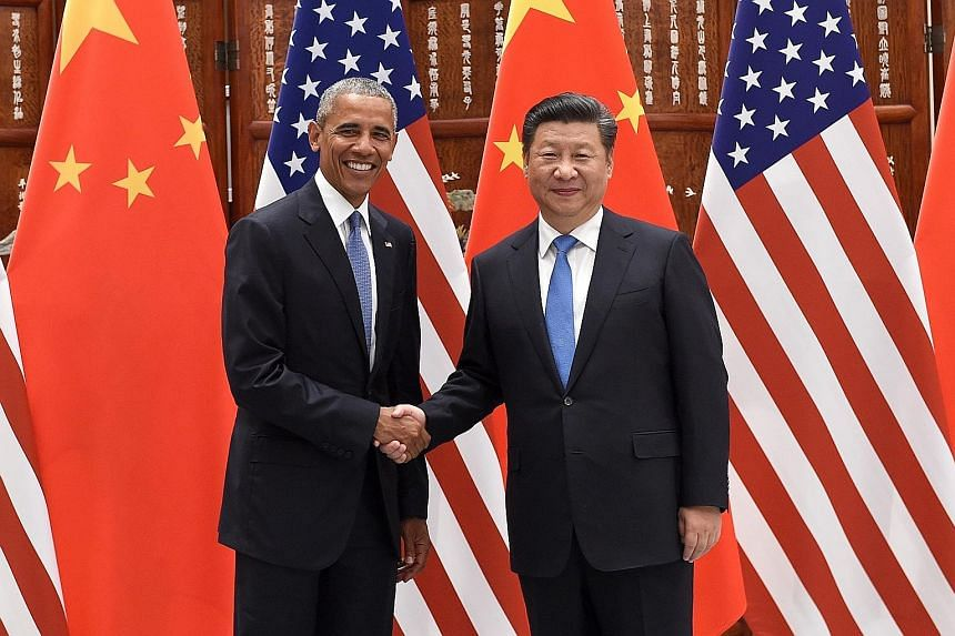 United States President Barack Obama and Chinese President Xi Jinping formally joined the Paris climate agreement yesterday at a ceremony in the Chinese city of Hangzhou. The move by the leaders of the world's two biggest polluters is a major step fo