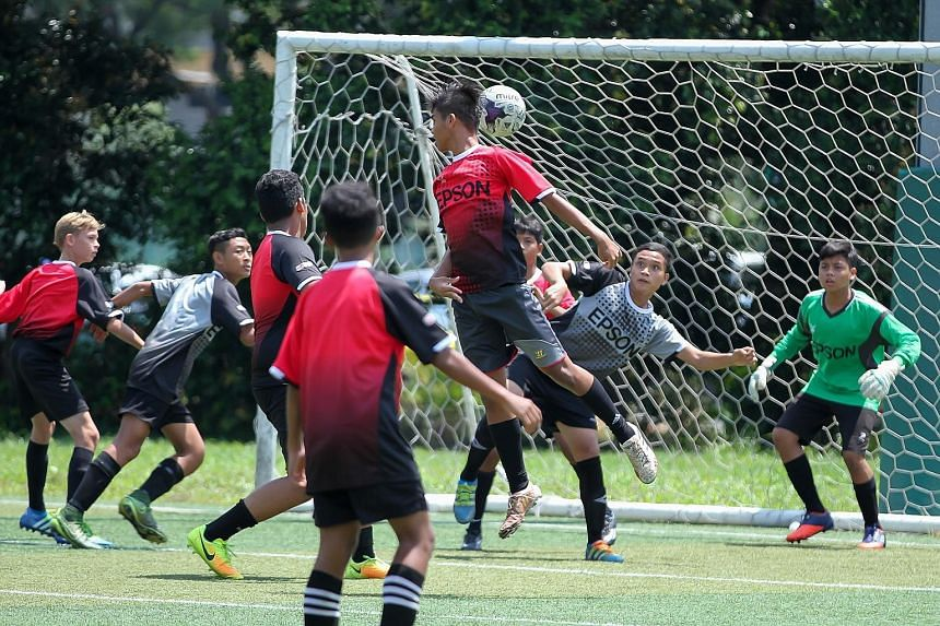 The inaugural Epson Singapore Cup football tournament kicked off at Safra Tampines yesterday. Ten Under-15 teams competed in a round-robin format and eight teams progressed to the quarter-finals, which will take place next weekend. Besides the matche