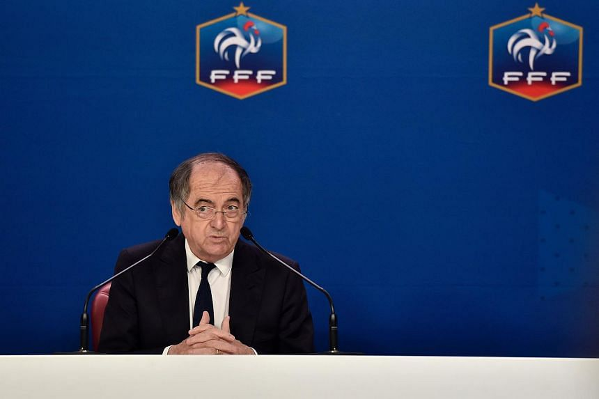 """French Football Federation president Noel Le Graet (above) has said that he is """"against lifetime punishments""""."""