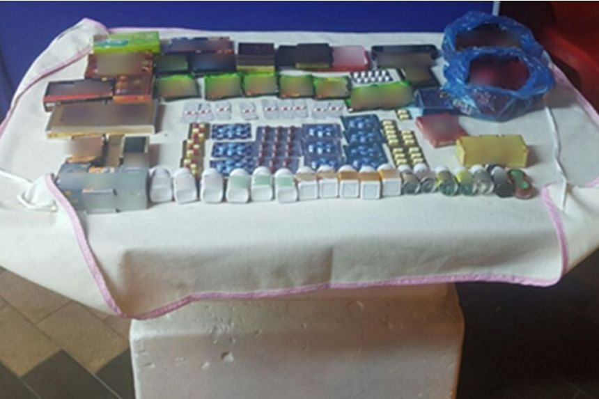 Illegal sexual enhancement products were seized in a multi-agency operation in Geylang.