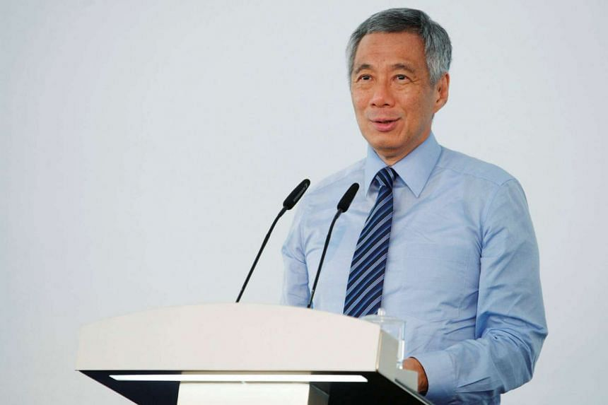 Prime Minister Lee Hsien Loong speaks in Singapore on Sept 2, 2014.