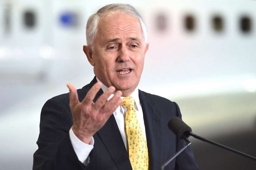 Australian Prime Minister Malcolm Turnbull speaks during a function to welcome home the Australian Olympic team from Rio 2016 Olympic Games, in Sydney, Australia, on Aug 24.