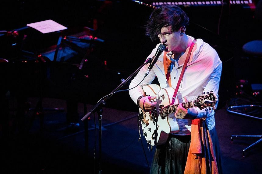 Singer- songwriters Lisa Hannigan and Patrick Wolf (above) at the double-bill.