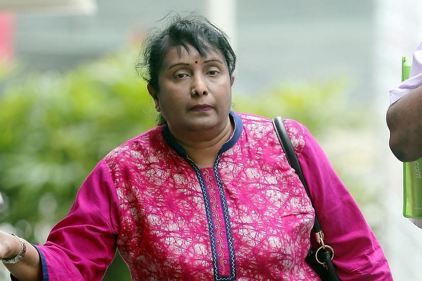 Former army warrant officer K. Rajakumari faces a maximum penalty of three years' jail and a $7,500 fine for each of the five charges of causing hurt to her maid.