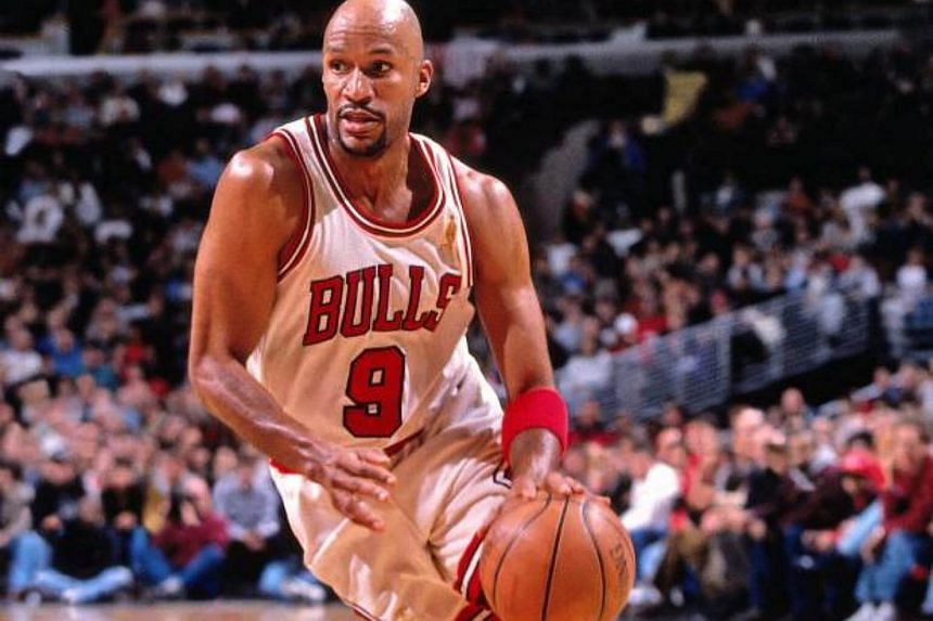 Ron Harper when he was playing for the Chicago Bulls.