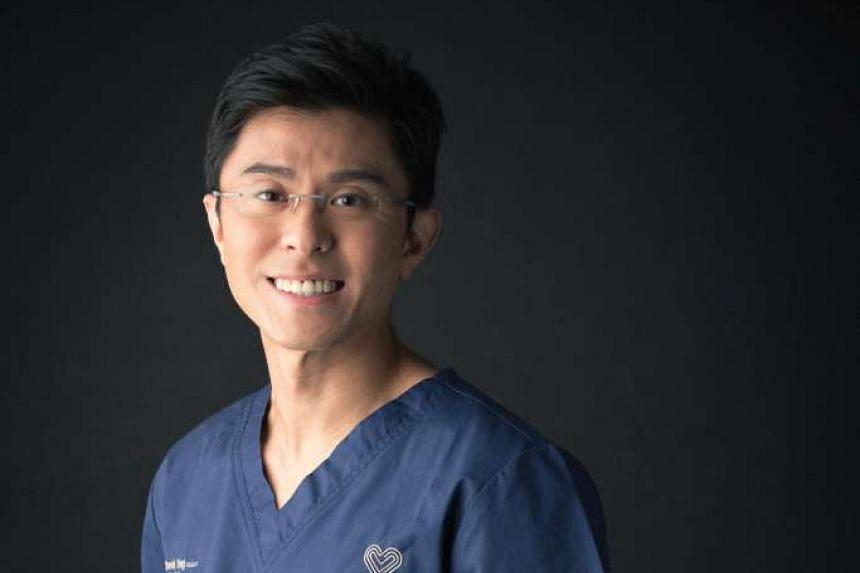 Dr Derek Yong, cardiologist at Restore Heart Centre at Mount Alvernia Hospital.