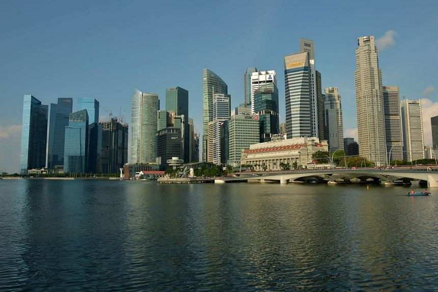 The Central Business District in Singapore on July 15.
