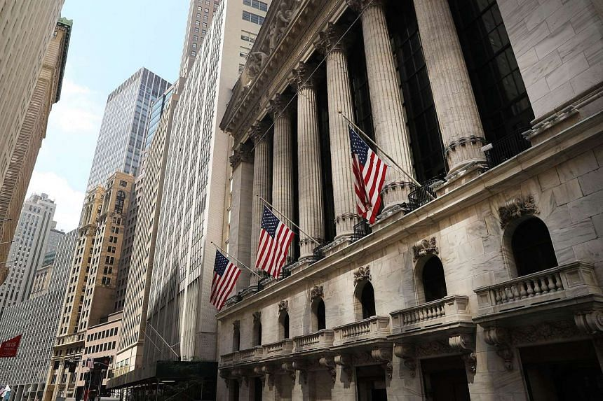 The New York Stock Exchange (NYSE) in lower Manhattan on August 26, 2016.