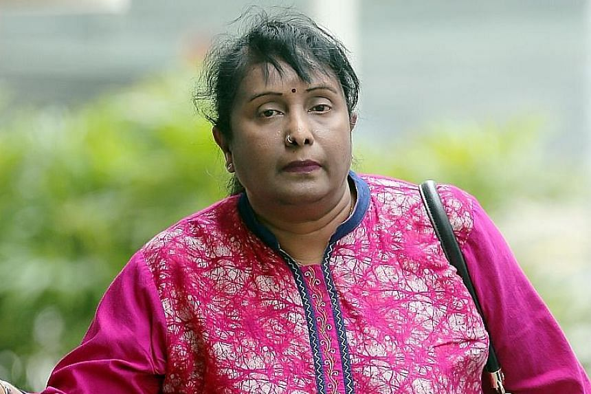 Rajakumari was found guilty yesterday of five charges of causing hurt to her maid between February and March 2012.