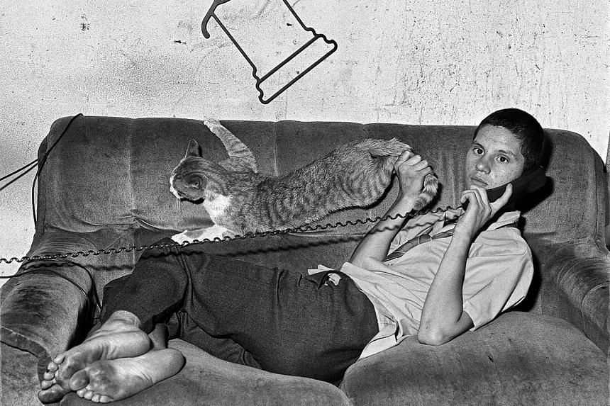 Photographer Roger Ballen, whose work includes Eugene On The Phone (2000, above).