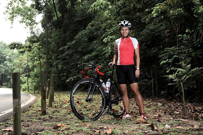 Ms Luo will be taking part in the 42km Sportive Ride event at OCBC Cycle on Oct 2.
