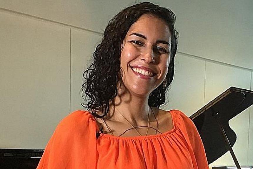 Benjamin Boo will accompany Brazilian soprano Taiana Froes on the piano in Sunday's concert.