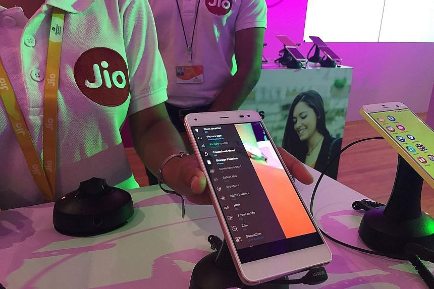 Subscribers of Reliance Jio are being offered free data, voice calls and messages on a 4G network till Dec 31, after which they can choose from nearly a dozen tariff plans, priced as low as $3 monthly.