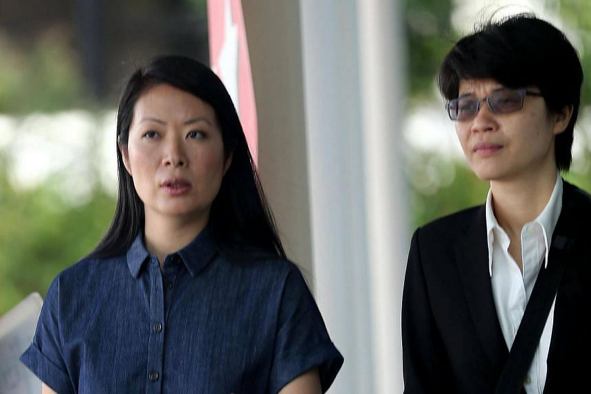 Theatre personality Beatrice Chia-Richmond's (left) was summoned to court to be questioned over the finances of her concert promotion company.