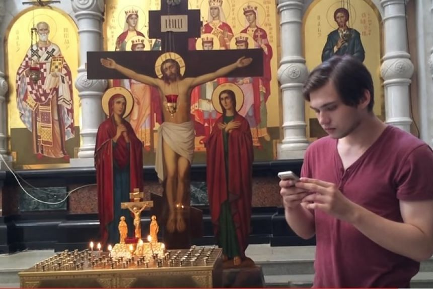 Ruslan Sokolovsky from the Urals city of Yekaterinburg has been charged with offending religious believers and inciting hatred.