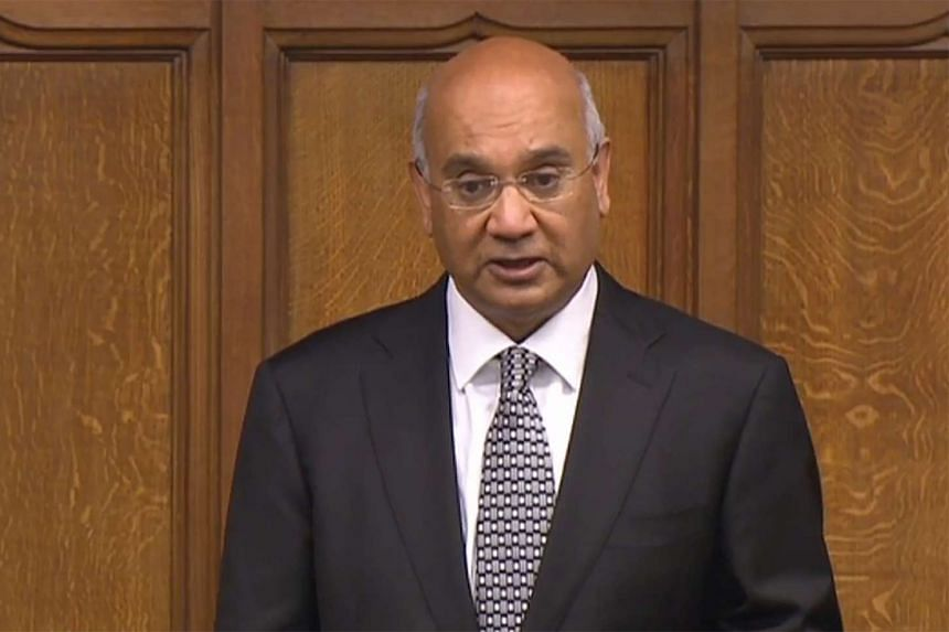 Mr Keith Vaz from the opposition Labour Party was recorded paying two male escorts for their services, according to a report in the Sunday Mirror.
